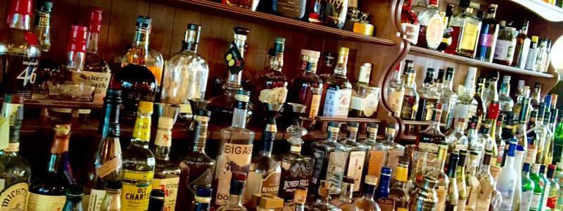 Capital Cellars is the main location for the best bourbon selection.