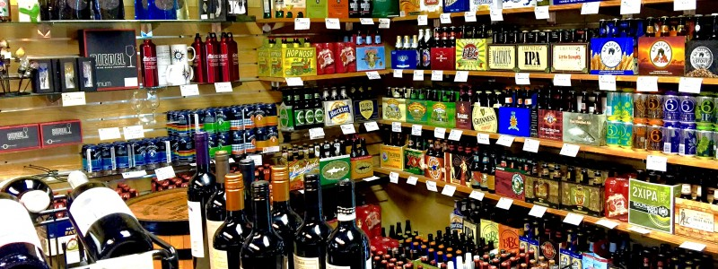 Capital Cellars has a great selection of craft beers from around the country.