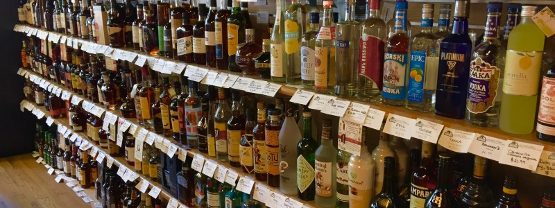 Capital Cellars boasts the areas largest selection of Bourbons and spirits in the region.