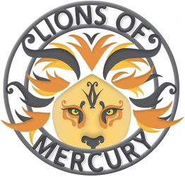 lions of mercury band logo