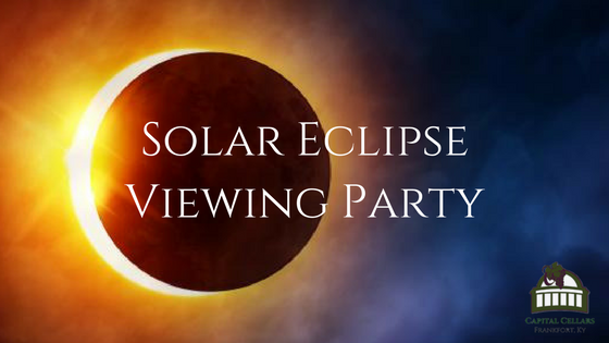 Capital Cellars Solar Eclipse Watch Party August 2017