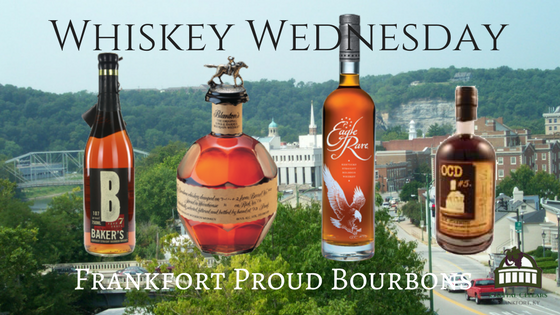Whiskey Wednesday - Blanton's Single Barrel Bourbon - Buffalo Trace Distillery Baker's 107 - Jim Beam Distillery OCD#5 - Glenn's Creek Distillery  Eagle Rare Bourbon - Buffalo Trace