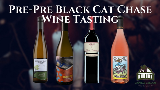 Pre-Pre Black Cat Chase Wine Tasting