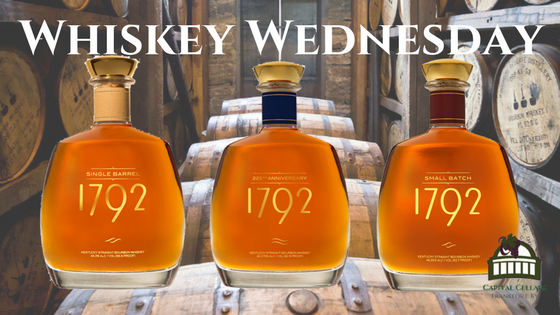 Whiskey Wednesday - 1792 225th Anniversary Bourbon, 1792 Small Batch Bourbon, 1792 Single Barrel Bourbon